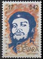 BELGIQUE 2862 (COB 2865) ** MNH Homme Politique Cubain Ernesto Rafael CHE GUEVARA Le Che Révolutionnaire CUBA - Unused Stamps
