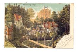 0-5234 KÖLLEDA - RASTENBERG, Stahlbad Finneck, 1900 - Sömmerda