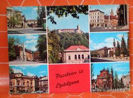 LJUBJANE SLOVENIA  CARTOLINA  1973 - Slovenia