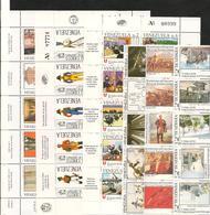 VENEZUELA  Année  Complète 1988 N°Y/T : 1374/1440** Côte : 73,30 € - Venezuela