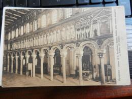 19192) RAVENNA CHIESA DI S. APOLLINARE PARETE NAVATA MAGGIORE NON VIAGGIATA 1925 CIRCA - Ravenna