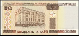 BIELORUSSIA : 20 RUBLI - 2000 - UNC - Bielorussia