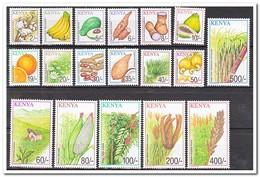 Kenia 2001, Postfris MNH, Fruit, Vegetables, Agriculture - Kenia (1963-...)