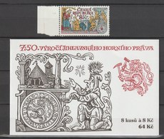 MiNr. 223 Tschechische Republik / 1999, 23. Juni. 750 Jahre Bergbaurecht Von Iglau (Jihlava). - Tschechische Republik