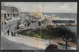 MALTA - GHAR-ID-DUD - SLIEMA - PASSEGGIATA - ANIMATA - FORMATO PICCOLO - VIAGGIATA  1957 FRANCOBOLLO ASPORTATO - Malta