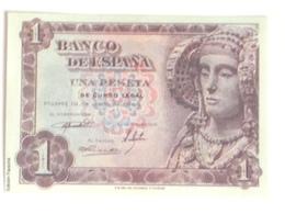Billete 1 Peseta. 1948. Estado Español. Facsimil. Dama De Elche. Sin Circular - [ 3] 1936-1975 : Regency Of Franco