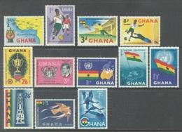 GHANA - 1959 - MNH/** - Yv 54-63 PA 5-6 - Lot 17893 - Ghana (1957-...)