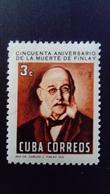 Cuba 1965 Finlay Anniversaire Birthday Science Yvert 860 ** MNH - Ungebraucht