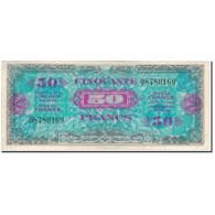 France, 50 Francs, 1944 Flag/France, 1944, TTB+, Fayette:VF19.1, KM:117a - 1944 Drapeau/France