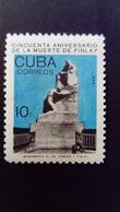 Cuba 1965 Finlay Anniversaire Birthday Science Statue Yvert 863 ** MNH - Ungebraucht