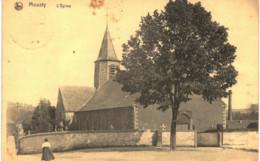 MOUSTY  L ' église  Tâche. - Ottignies-Louvain-la-Neuve