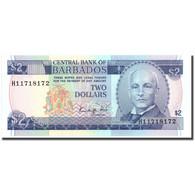 Billet, Barbados, 2 Dollars, Undated (1986), KM:36, NEUF - Barbados