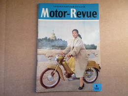 Motor-Revue / N°8 De 1959 / Tschékoslovaquie - Tschechoslowakische - Books, Magazines, Comics