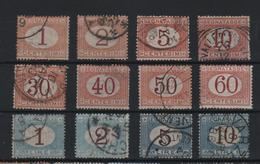 1870 Segnatasse Serie Cpl US - 1861-78 Vittorio Emanuele II