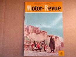 Motor-Revue / N°9 De 1959 / Tschékoslovaquie - Tschechoslowakische - Livres, BD, Revues