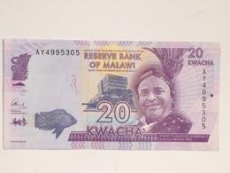 Billete Malawi. 20 Kwacha. 2015. Sin Circular - Malawi