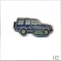 Pin's Automobile - Rover / Discovery - Carrosserie Bleue Marine. Non Estampillé. Zamac. T580-02 - Rallye
