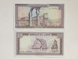 Billete Líbano. 10 Libras. 1986. Sin Circular - Líbano