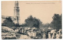 2 CPA - ORGON (Bouches Du Rhône) - La Procession Sortant De L'Eglise / La Vierge De Beauregard Descendant La Montagne - Autres Communes