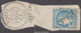 GC 4663 + Cachet à Date (Ballan, Indre-et-Loir (36)), Cote +22.5€ - Marcophilie (Timbres Détachés)