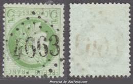 GC 4663 (Ballan, Indre-et-Loir (36)), Cote 22.5€ (+10€ Pour Le Timbre, 5c Cérès) - Marcophilie (Timbres Détachés)