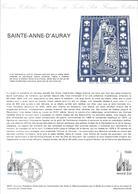 DOCUMENT OFFICIEL 29-81 SAINT ANNE D'AURAY - COTE 2009 = 5.00 € - Documents De La Poste