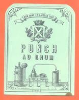 étiquette Ancienne Punch Au Rhum - Alambic - Rhum