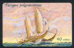 40u Pirogue Polynesienne 09/2003 - Polynésie Française