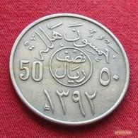 Saudi Arabia 50 Halala 1972 / 1392 KM 51 Arabia Saudita Arabie Saoudite - Arabie Saoudite