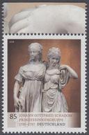 !a! GERMANY 2018 Mi. 3416 MNH SINGLE W/ Top Margin (c) - Treasuries From German Museums: Group Of Princesses - BRD