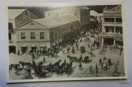 HAMILTON-Street Scene-Carte Photo - Bermudes