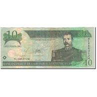 Billet, Dominican Republic, 10 Pesos Oro, 2003, KM:168c, TTB - Dominicaine