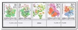 Servië 2004, Postfris MNH, Flowers, Butterflies - Servië