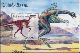 Guinée Bissau 2001 Prehistory Prehistoire Dinosaurs Dinosaures - Prehistory