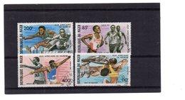 EDY 897 - NIGER 1967 , 4 Valori Usati A Tema SPORT - Niger (1960-...)