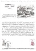 DOCUMENT OFFICIEL 21-81 SAINT JEAN LYON - COTE 2009 = 4.00 € - Documents De La Poste