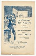 La Chanson Des Métiers ; Le Chant Du Coiffeur - Paroles Et Partition - Document De 4 Pages - état Moyen - Partitions Musicales Anciennes