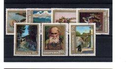 EDY 909 - ALBANIA  , Serie Usata A Tema QUADRI - Albania