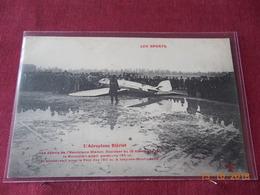 CPA - L'Aéroplane Blériot - Accident Du 18 Décembre 1907 (Prix Des 150 M à Issy-les-Moulineaux) - Accidents