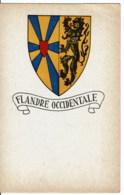 WAPENSCHILD West Vlaanderen   Flandere Occidentale - Cartes Postales