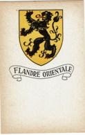 WAPENSCHILD    Flandere Orientale - Cartes Postales
