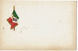 WAPENSCHILD   Vlag Italie - Cartes Postales