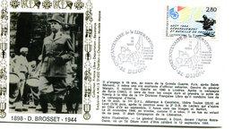 Bureau Temporaire Dijon Du 11 Septembre 1994 - Anniversaire Libération - X 807 - WW2