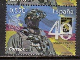 SPAIN, 2018, MNH, POLICE, SPECIAL OPERATIONS  FORCE,  1v - Police - Gendarmerie