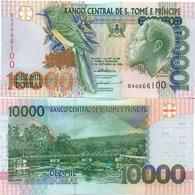 S. Tome E Principe - 10000 Dobras 1996 UNC Lemberg-Zp - San Tomé E Principe