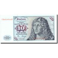 Billet, République Fédérale Allemande, 10 Deutsche Mark, 1980, 1980-01-02 - [ 7] 1949-… : RFA - Rep. Fed. Tedesca