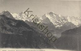 Interlaken - Alpenpanorama Vom Harder Aus [D1321 - Suisse