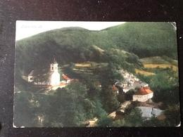 72681) CARTOLINA DI Szklenófürdő-PANORAMA-VIAGGIATA 1914 - Slovacchia