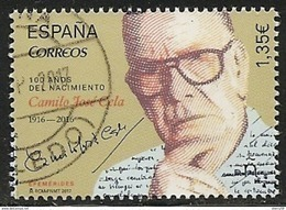 2017-ED. 5164 COMPLETA -Efemérides. 100 Años Nacimiento Camilo J. Cela. Premio Nobel De Literatura -USADO - 2011-... Gebraucht
