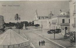 TRANI PIAZZA PLEBISCITO 1921 ANIMATA - Trani